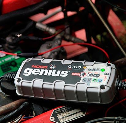 Cargador de baterias coche