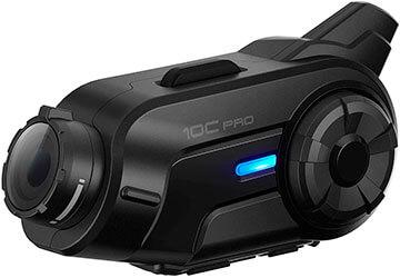 Intercomunicador moto con cámara Sena 10C-Pro-01