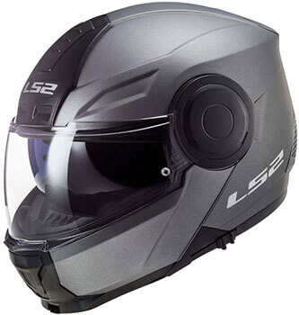 Casco modular para moto L2S FF902 Scope Solid