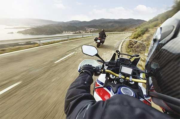 Navegador GPS moto